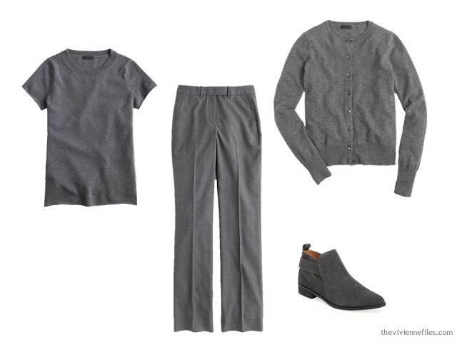 grey foundation capsule wardrobe