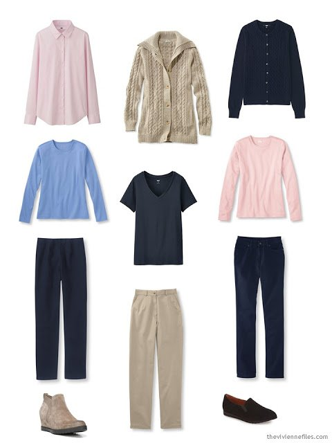 A Starting From Scratch Capsule Wardrobe after the first 2 stages
