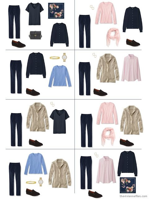 8 ways to wear blue jeans, from a Starting From Scratch Wardrobe