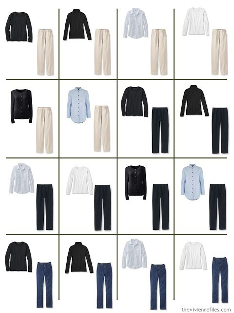 9-Piece capsule Wardrobe Building Blocks