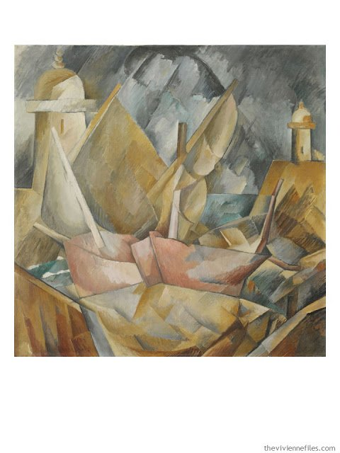 Little Harbor in Normandy by Georges Braque