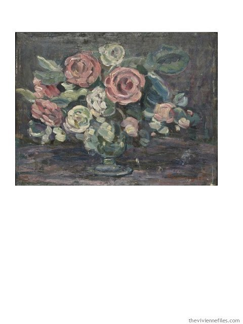 Expanding a Capsule Wardrobe by Starting with Art: Night Study of Flowers by Maurice Prendergast