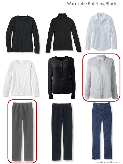 Minimal French Capsule Wardrobe building blocks