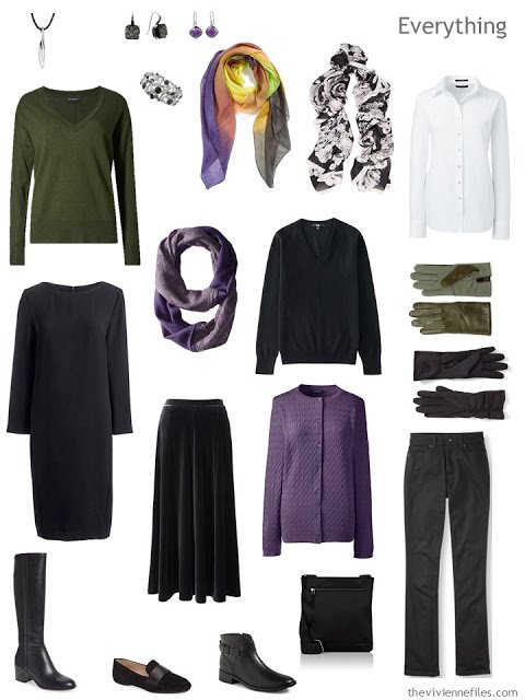 A Travel Capsule Wardrobe inspired by Art: Soir d'Octobre by Maurice Denis