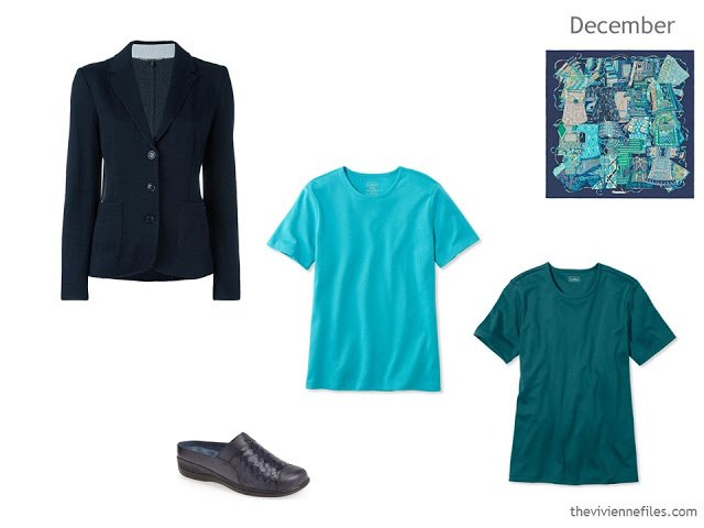 additions to a navy capsule wardrobe