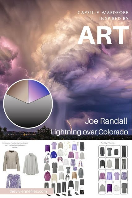How to Build a Capsule Wardrobe: Starting From Scratch: Evaluating and Balancing, based on Lightning over Colorado by Joe Randall