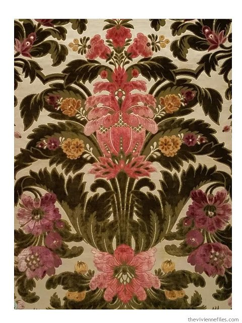 velvet fabric - Mathevon & Bouvard