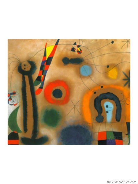 Dragonfly with Red Wings Hunting a Snake by Joan Miro