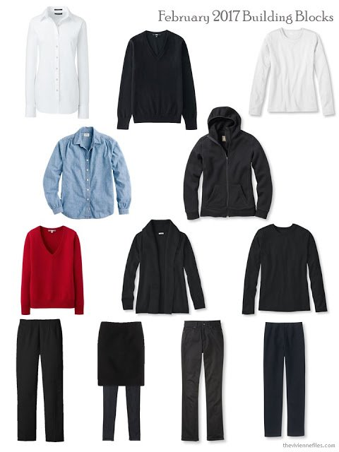Building blocks from a capsule wardrobe in a year without shopping