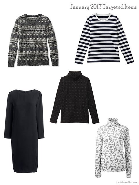 Five garments to try to wear a lot in January 2017