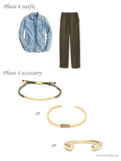 Choosing a simple gold bracelet