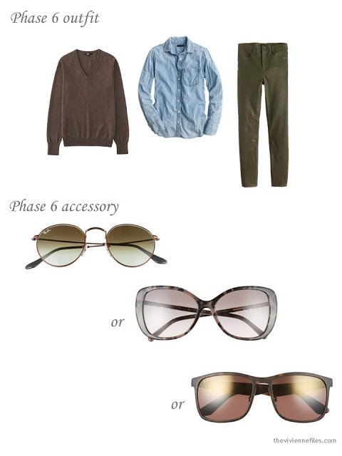 How to choose brown sunglasses