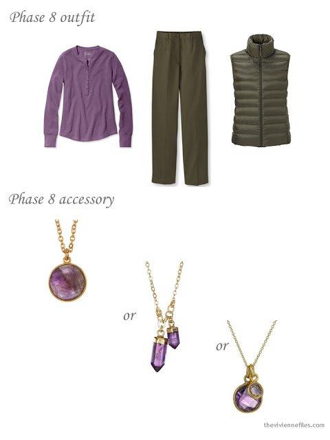 Choosing an amethyst pendant