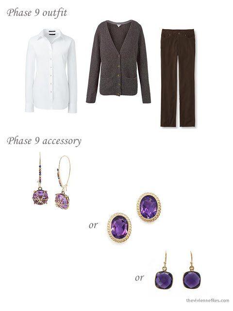 How to choose amethyst and gold earrings