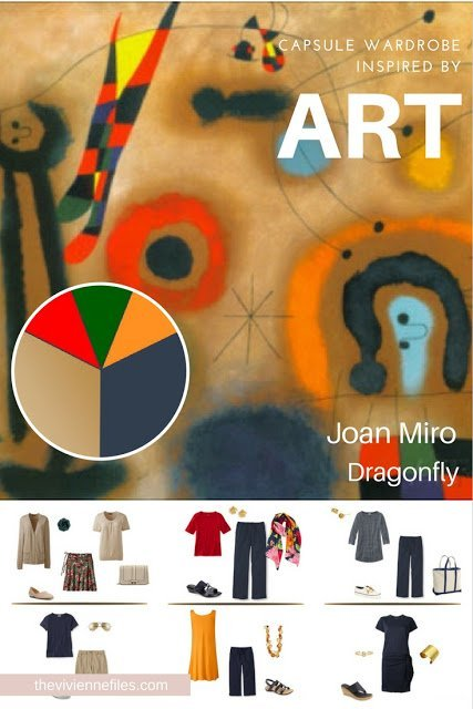 Build a Whatever's Clean 13 Capsule Wardrobe by Starting with Art: Dragonfly by Miro
