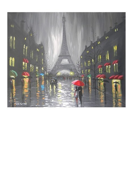 Paris Dreaming by Peter Rumney