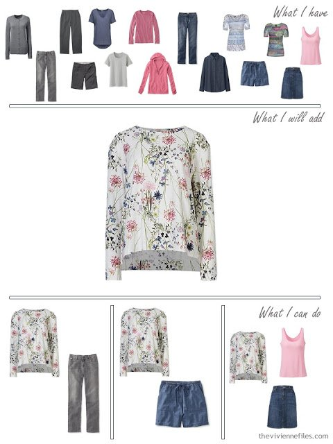 how to add a floral sweatshirt to your wardrobe