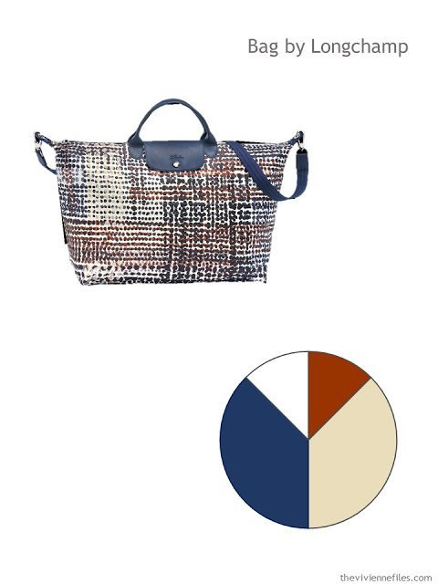 Longchamp Neo Polka Dot bag with color palette