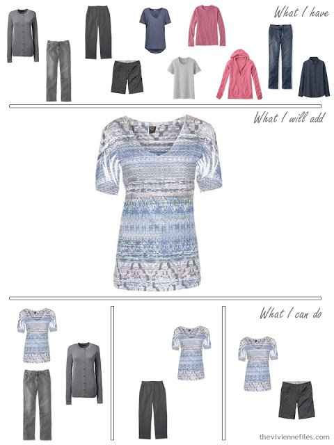 how to add a pastel print tee shirt to your wardrobe