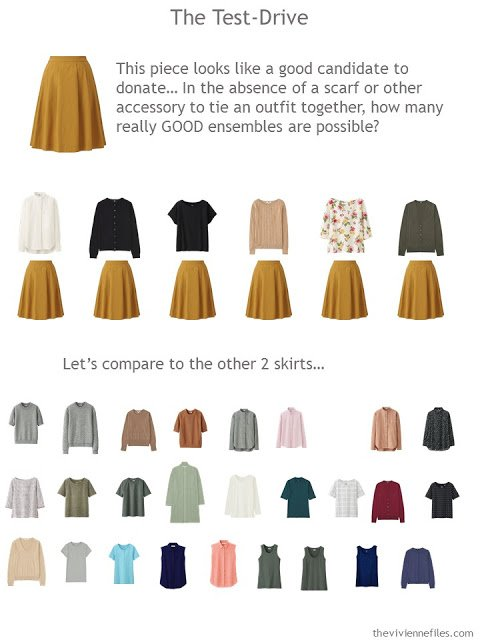 How to test-drive a gold skirt in your wardrobe