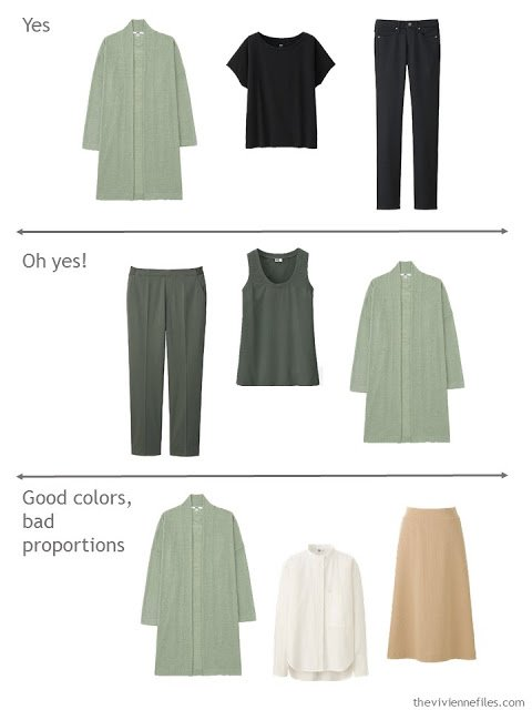 How to evaluate the versatility of a cardigan