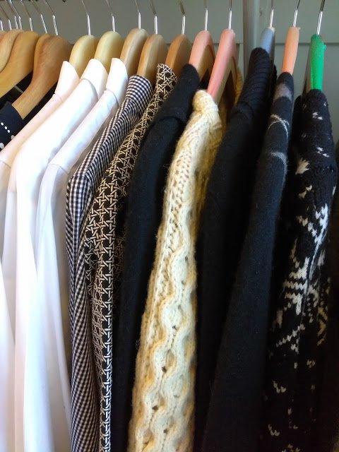 a part of Janice's closet
