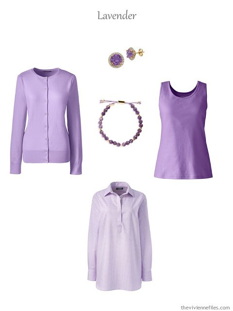 five lavender accent pieces for warmer weather