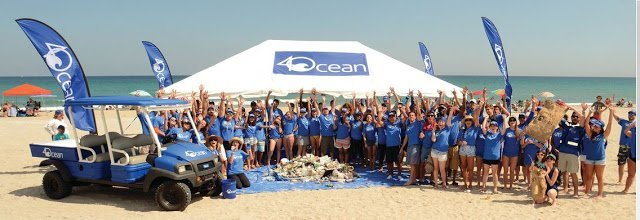 4Ocean cleanup group
