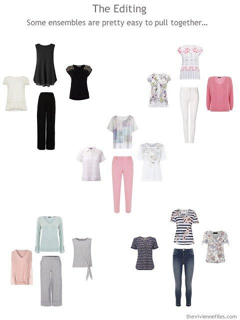 five wardrobe Clusters