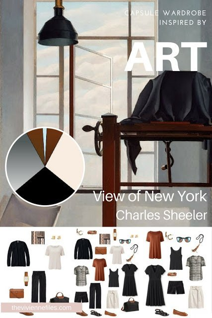 How to Pack Light for a Long Weekend? Start with Art: View of New York by Charles Sheeler