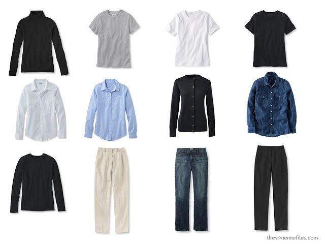 A Core Common Capsule Wardrobe