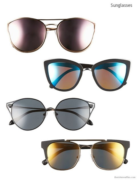 Four pairs of sunglasses for Summer 2017