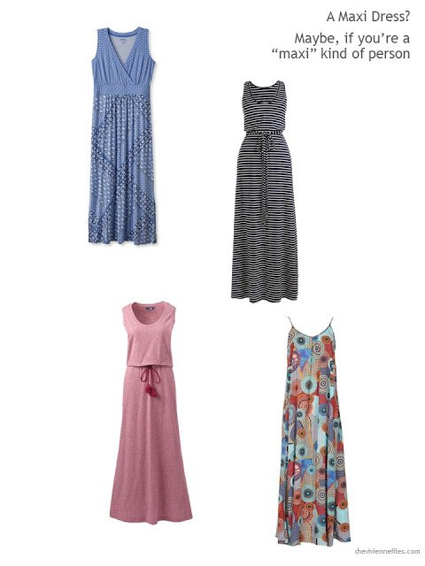 4 maxi dresses for Summer 2017