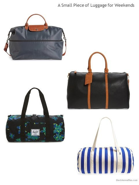4 weekend bags for Summer 2017