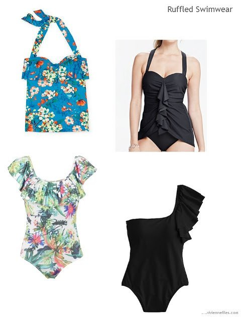 4 ruffled swimsuits for Summer 2017