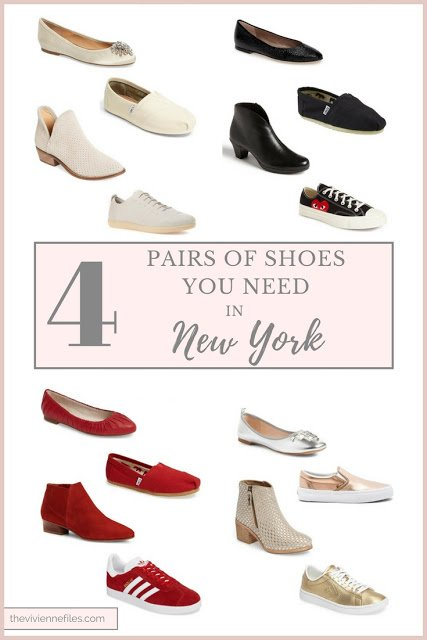 The Only 4 Pairs of Shoes You Need in New York