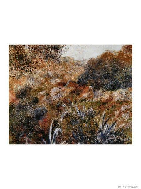 Paysage Algérien, le Ravin del a Femme Sauvage by Renoir