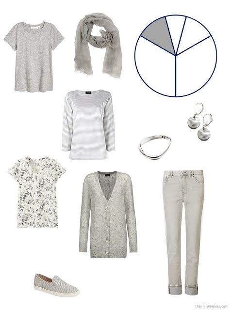 Warm grey wardrobe additions for warm weather