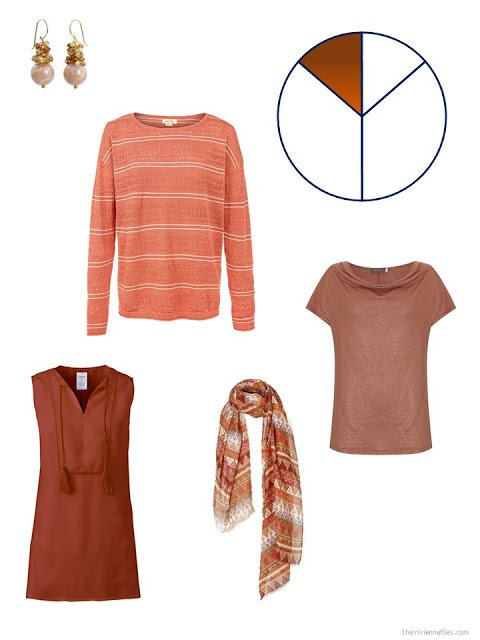rust additions to a summer travel capsule wardrobe