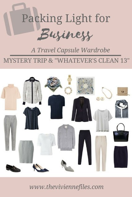A Favorite TV Show, and a Favorite Business Travel Capsule Wardrobe