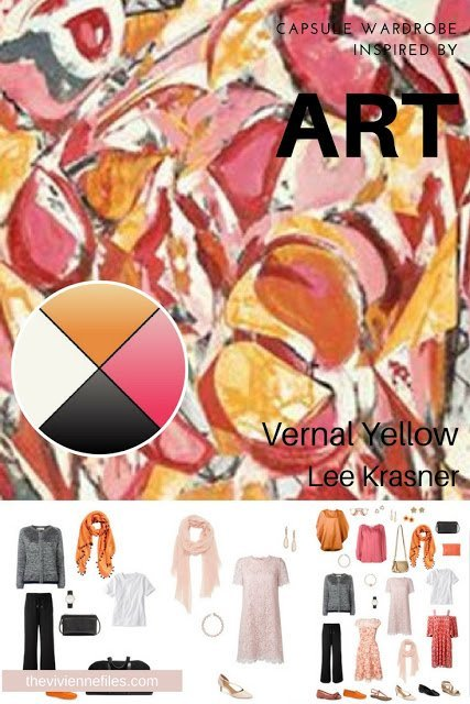 Pack For a Special Occasion by Starting with Art: Vernal Yellow by Lee Krasner