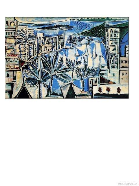 Baie de Cannes by Pablo Picasso