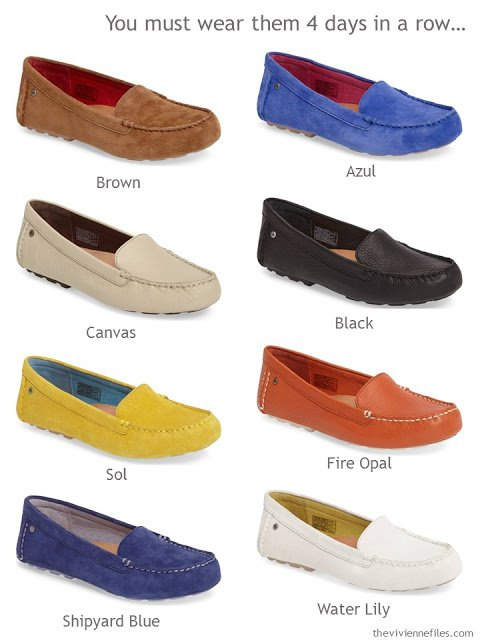 choose your favorite color of loafers