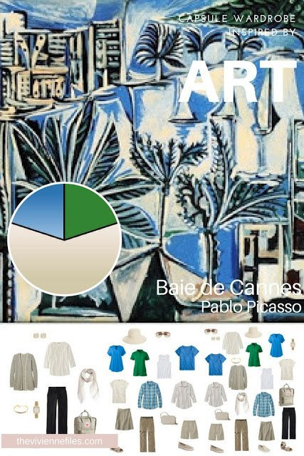 A Travel Capsule Wardrobe for Both Coolness and Modesty: Baie de Cannes by Picasso