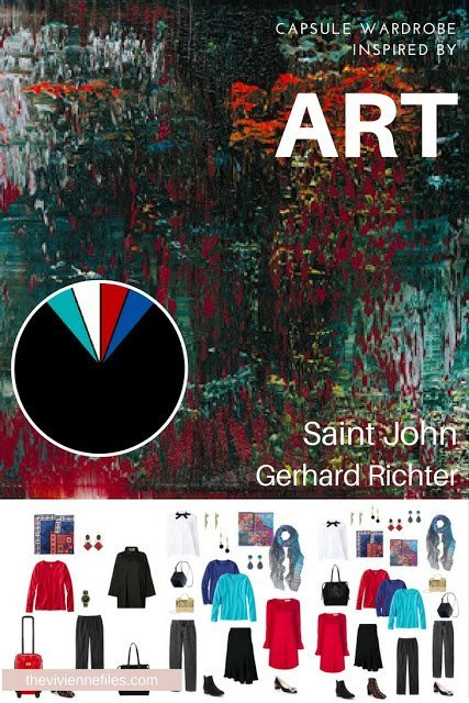 A Travel Capsule Wardrobe that Starts with Art: Saint John by Gerhard Richter