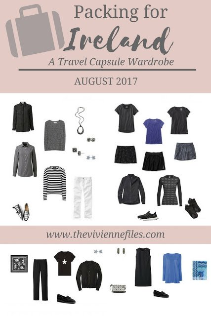 What I'm Packing For Ireland, August 2017