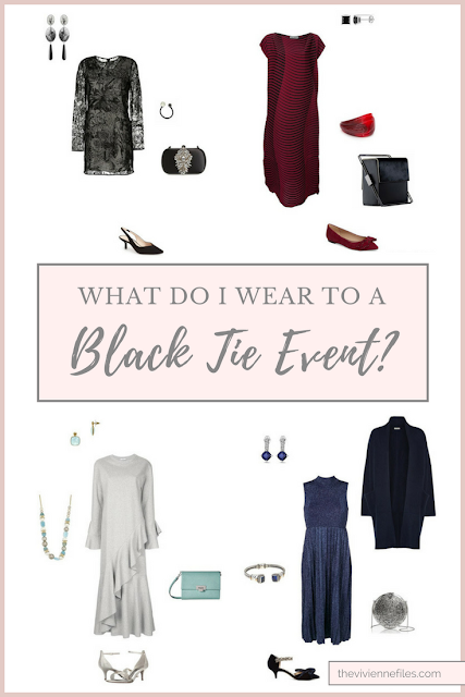 What to wear to a black tie event or function