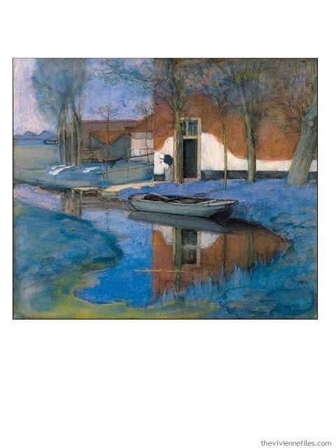 A Farm by Piet Mondrian