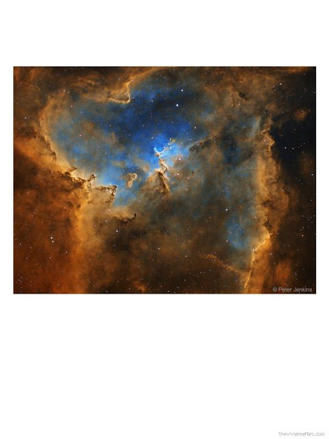 The Heart Nebula by Peter Jenkins