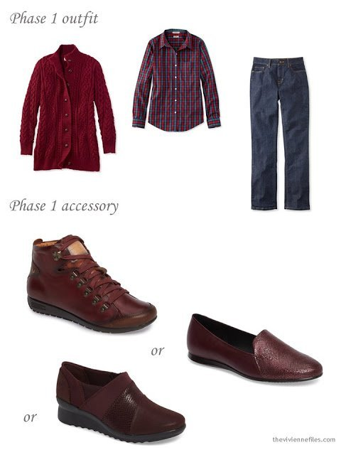 adding shoes to a capsule wardrobe